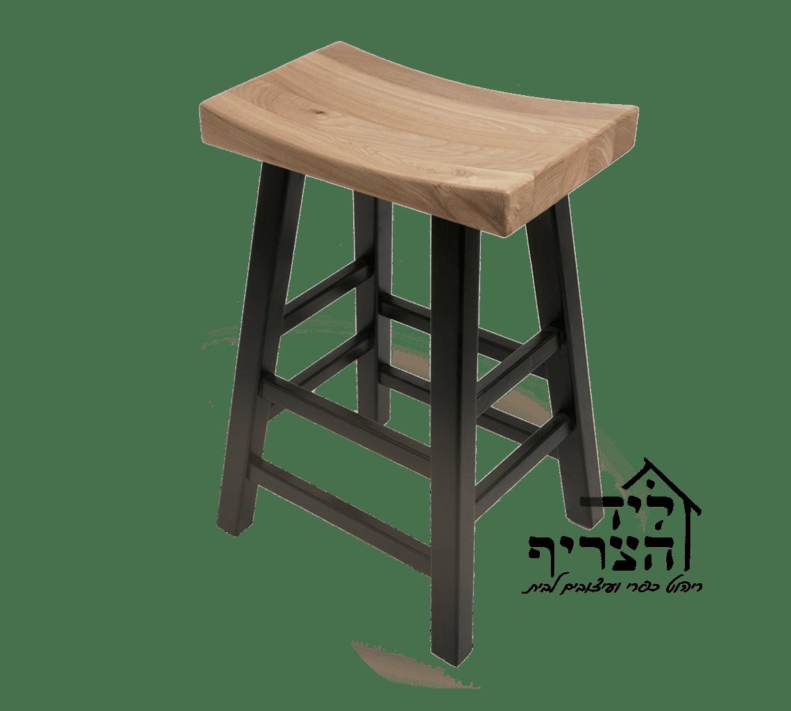 כיסאות בר מעץ מלא - כיסאות לדלפק - ליד הצריף, גדרה- ריהוט כפרי ועיצובים לבית 08-8598173