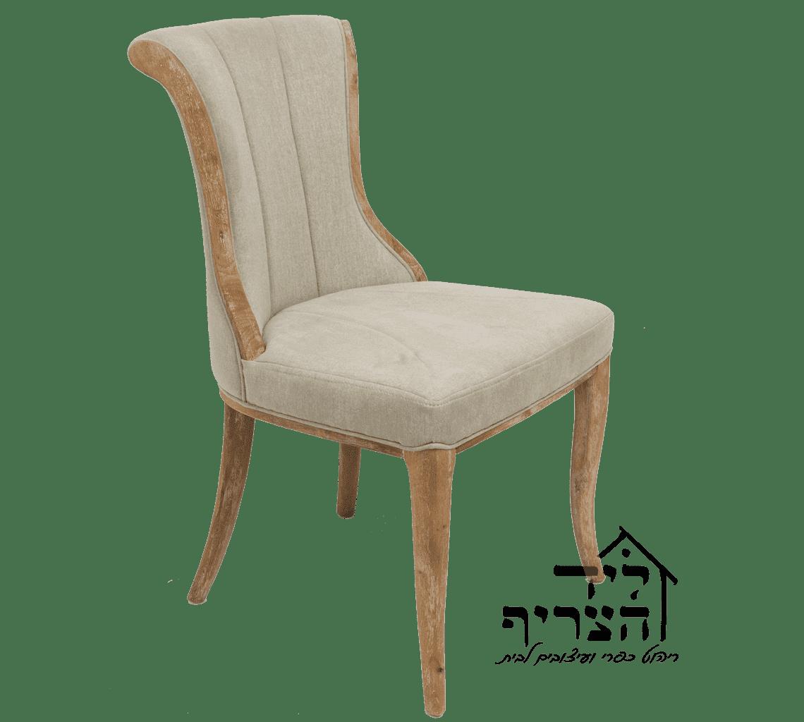 כיסא אוכל יוקרתי- כיסא מרופד- כיסא אוכל עץ מלא- כיסאות לפינת אוכל, שולחנות, שידות - ליד הצריף, גדרה 08-8598173