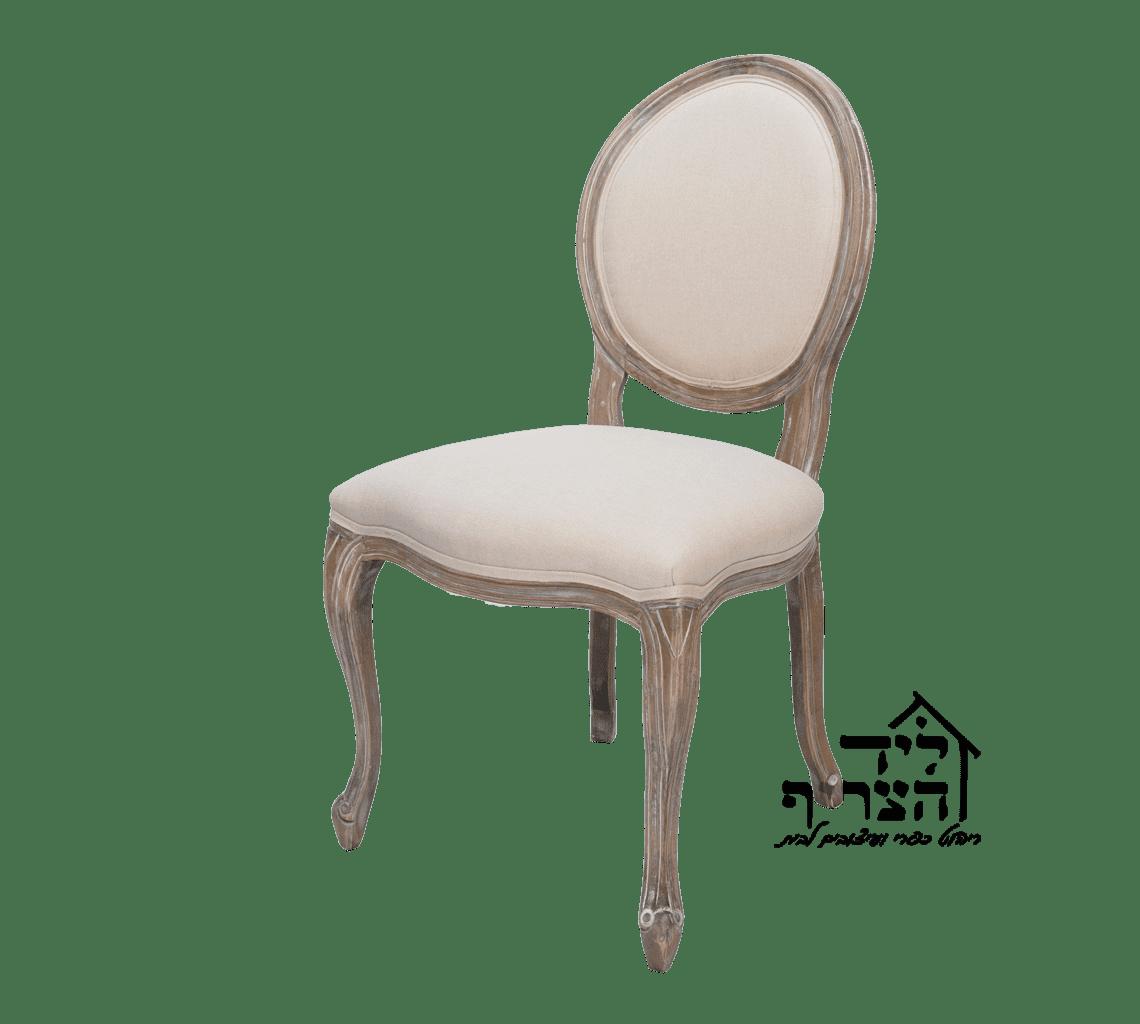 כיסא אוכל יוקרתי- כיסא לואי מרופד- כיסא אוכל עץ מלא- כיסאות לפינת אוכל, שולחנות, שידות - ליד הצריף, גדרה 08-8598173